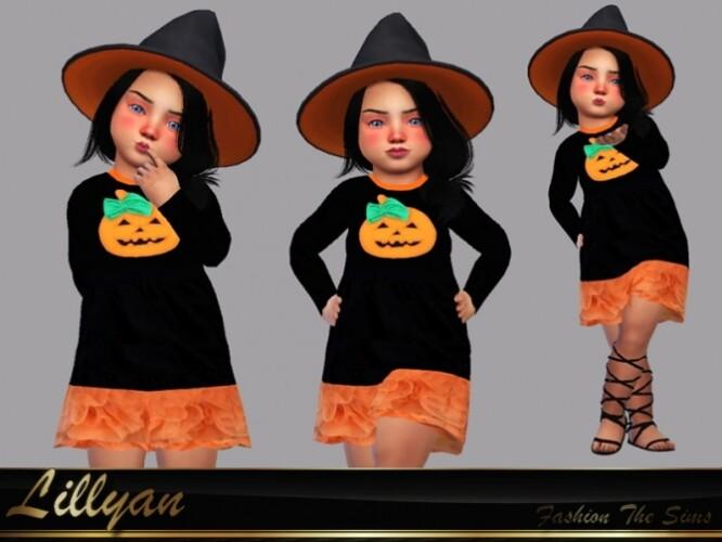 Halloween dress baby by LYLLYAN