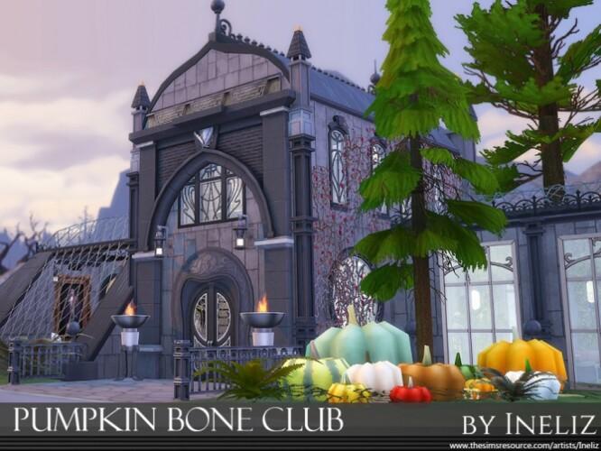 Pumpkin Bone Club by Ineliz