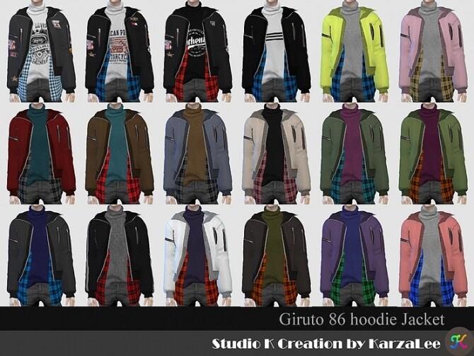 Sims 4 Giruto 86 Hoodie Jacket at Studio K Creation