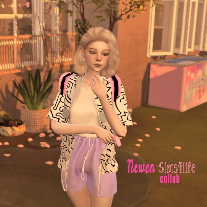 Sims 4 NEWEN & Sims41ife COLLABORATION at NEWEN