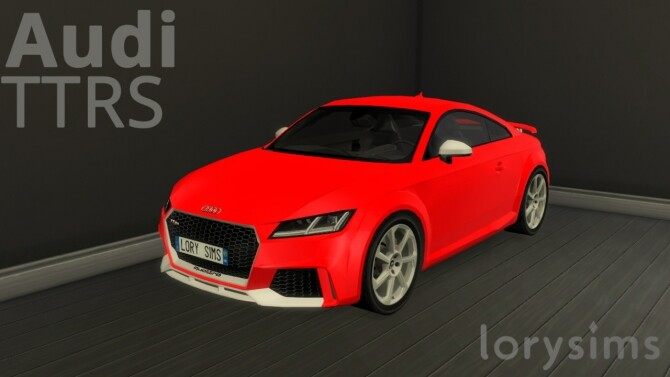 Audi TTRS at LorySims image 3081 670x377 Sims 4 Updates