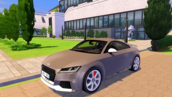 Audi TTRS at LorySims image 3092 670x377 Sims 4 Updates