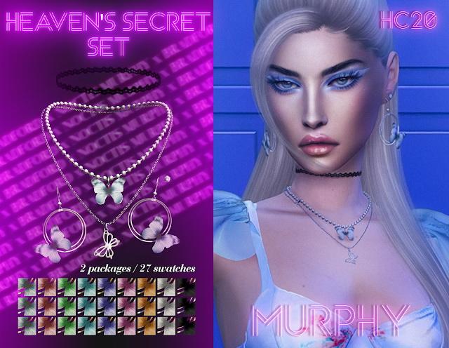 Sims 4 Heavens Secret Set at MURPHY