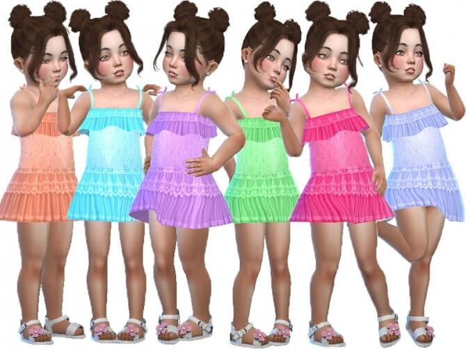 Sims 4 Simona dress by TrudieOpp at TSR