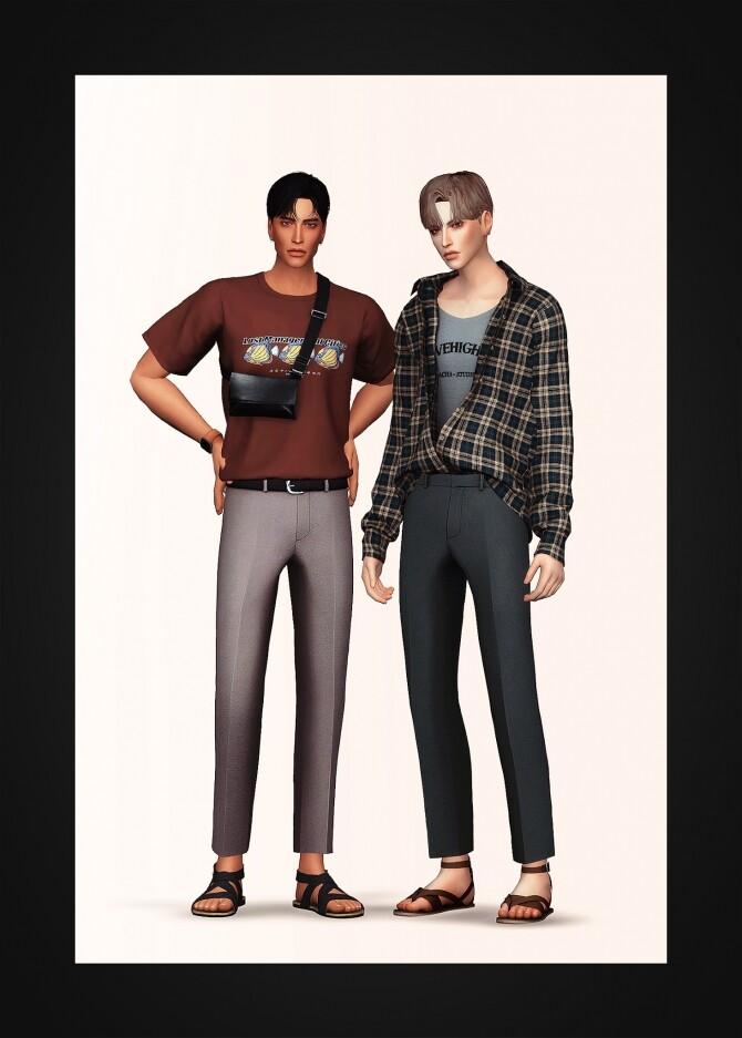 Sims 4 Cropped Slacks at Gorilla