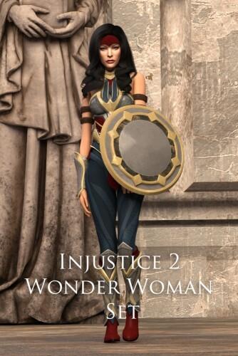Injustice 2 Wonder Woman Set