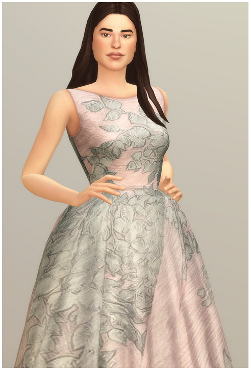 Sims 4 Dress Collection I  2 at Rusty Nail