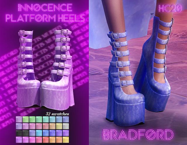 Innocence Platform Heels