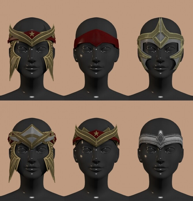 Sims 4 Injustice 2 Wonder Woman Set at Astya96
