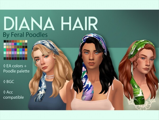 Diana Hair by feralpoodles