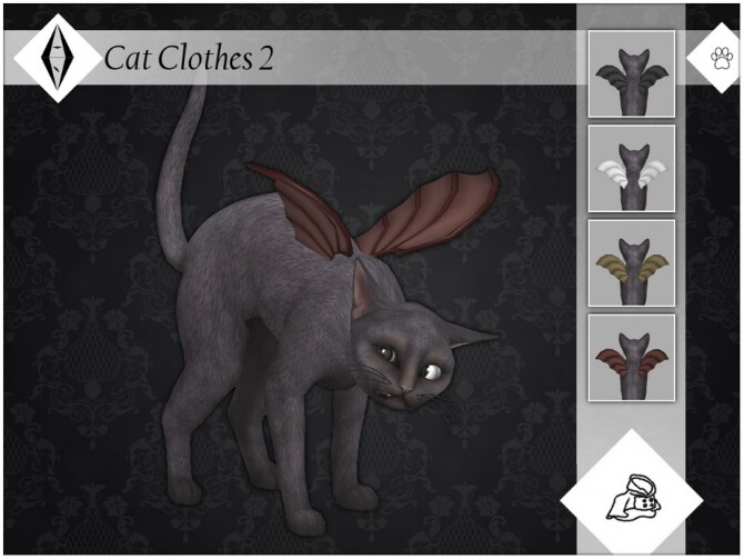 Sims 4 Cat Clothes 2 by AleNikSimmer at TSR