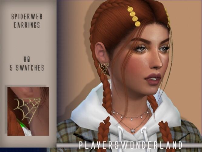 Spiderweb Earrings by PlayersWonderland