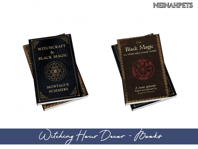 Sims 4 Witching Hour Decor by neinahpets at TSR