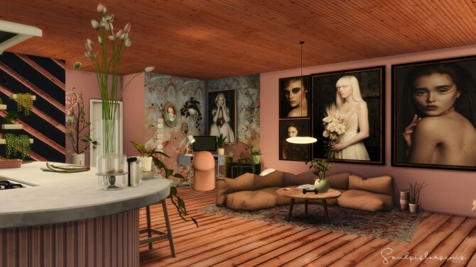 Cluttery Girly Apartment