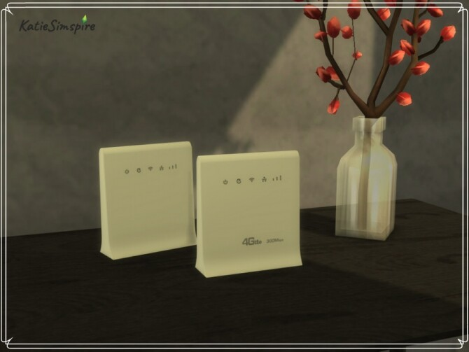 WiFi Routers by Katiesimspire at TSR image 3514 670x503 Sims 4 Updates