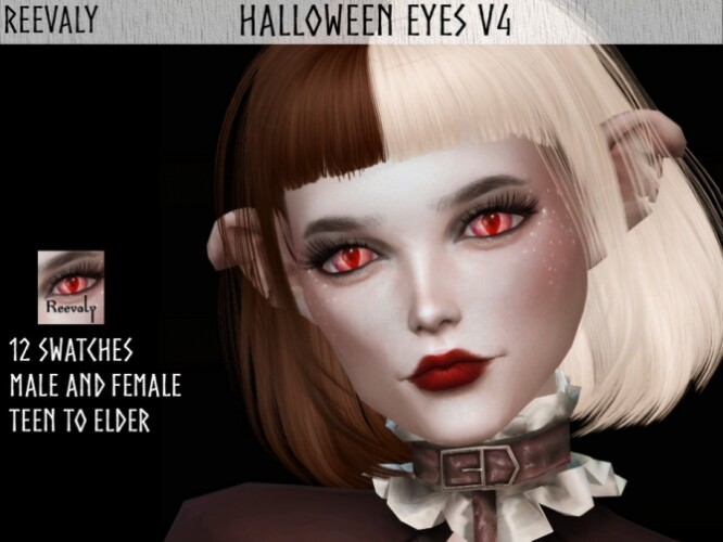 Halloween Eyes V4 by Reevaly