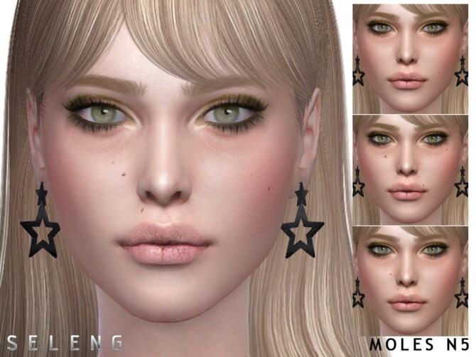Sims 4 Moles N5 by Seleng at TSR