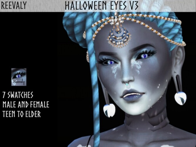 Halloween Eyes V3 by Reevaly