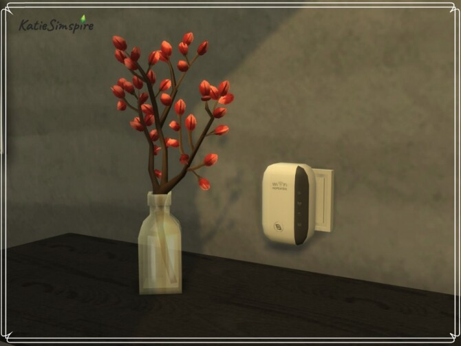 WiFi Routers by Katiesimspire at TSR image 3713 670x503 Sims 4 Updates