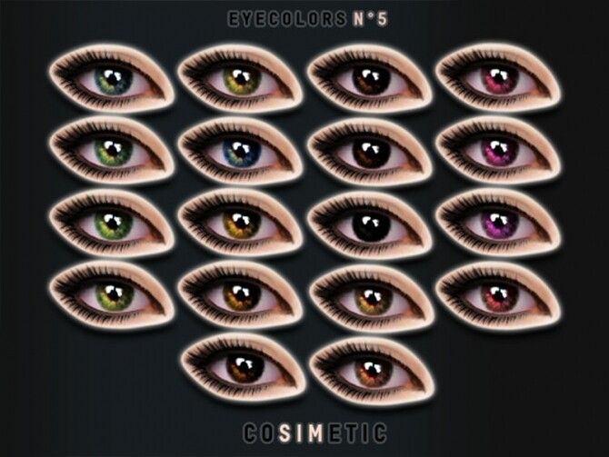 Eyecolors N5 by cosimetic at TSR image 390 670x503 Sims 4 Updates