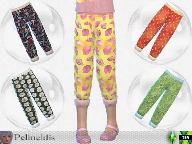 Sims 4 Summer Party Pants by Pelineldis at TSR