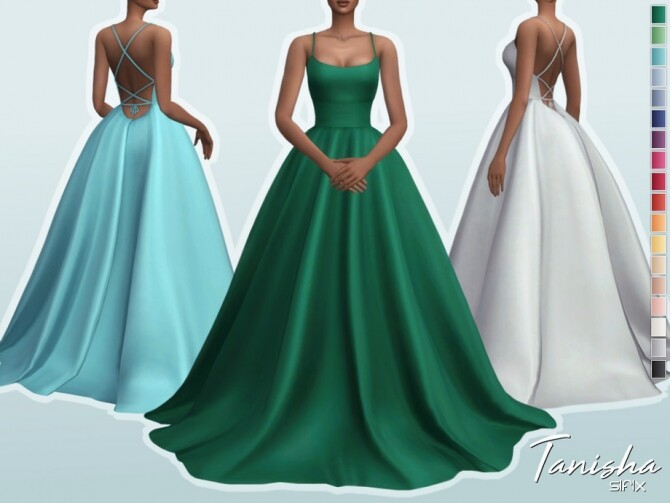 Tanisha Dress by Sifix at TSR image 4012 670x503 Sims 4 Updates