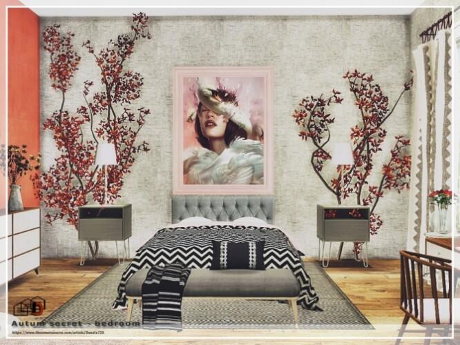 Autum secret bedroom by Danuta720