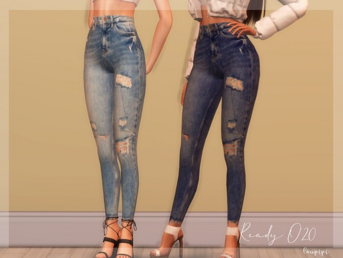Sims 4 Jeans MO01 by laupipi at TSR
