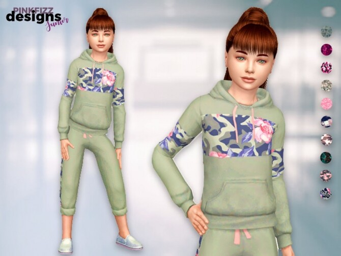 Junior Camo Set by Pinkfizzzzz at TSR image 406 670x503 Sims 4 Updates