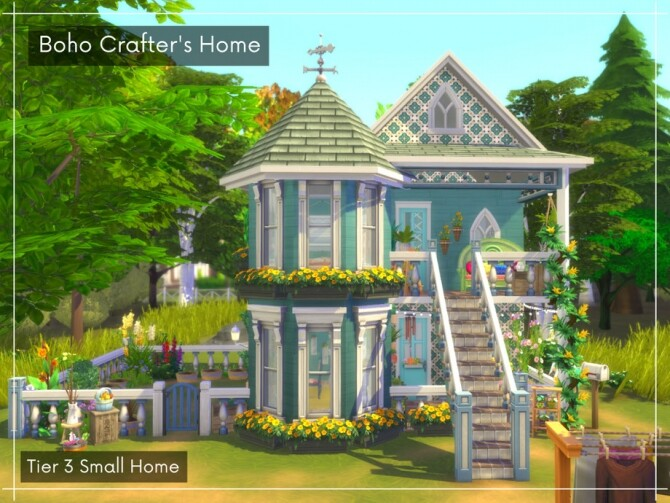 Boho Crafters Tier 3 Small Home