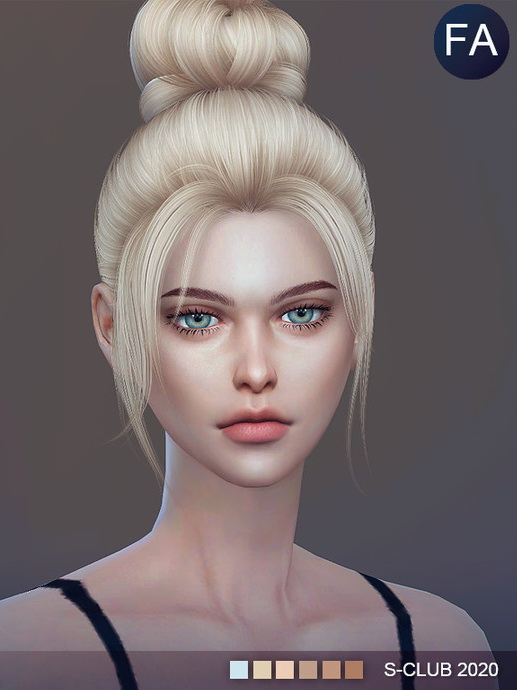 Sims 4 Skintones6.0 Shing FA by S Club WMLL at TSR