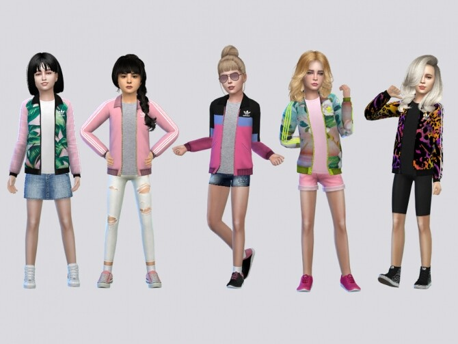Track Jacket Girls by McLayneSims at TSR image 4214 670x503 Sims 4 Updates