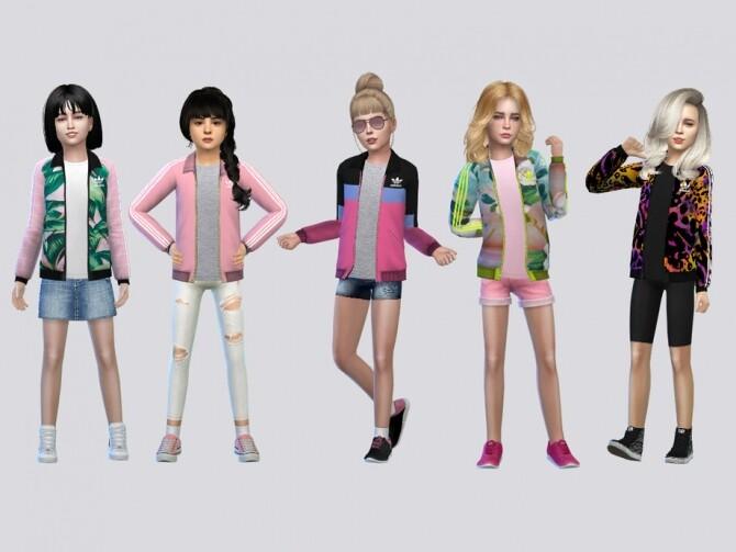 Sims 4 Track Jacket Girls by McLayneSims at TSR