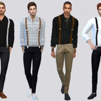 Mister Suspender Top by McLayneSims