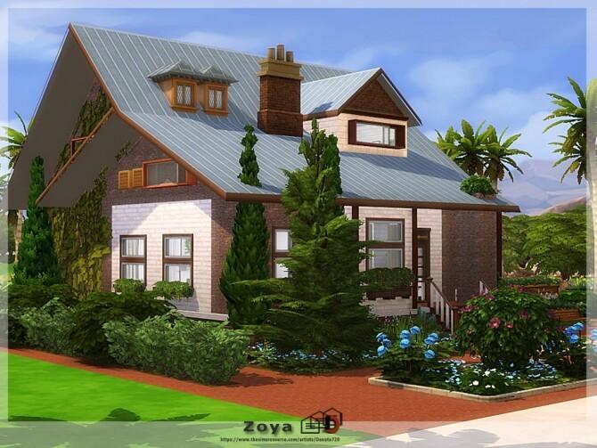 Sims 4 Zoya home by Danuta720 at TSR