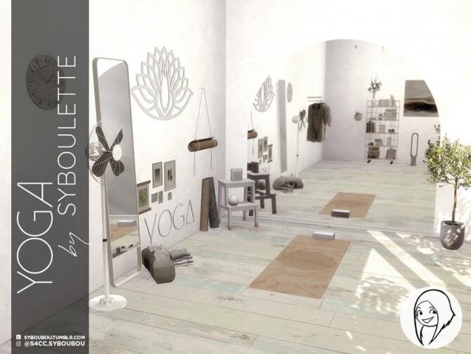 Sims 4 Yoga set by Syboubou at TSR