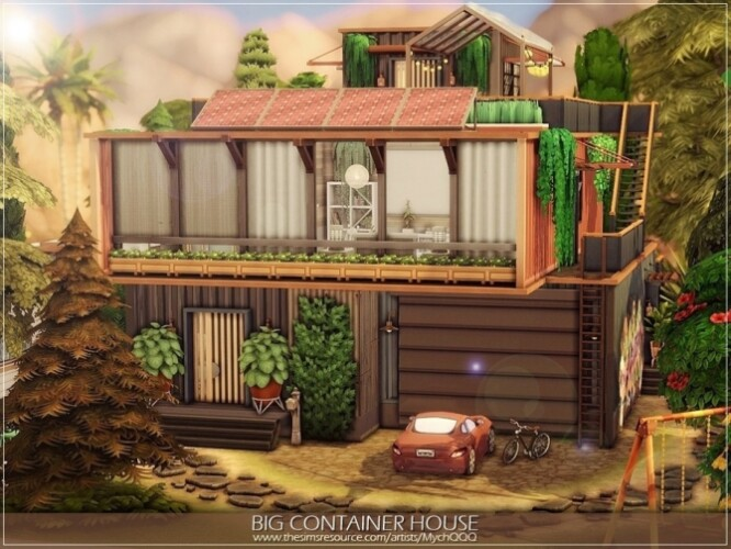 Big Container House by MychQQQ