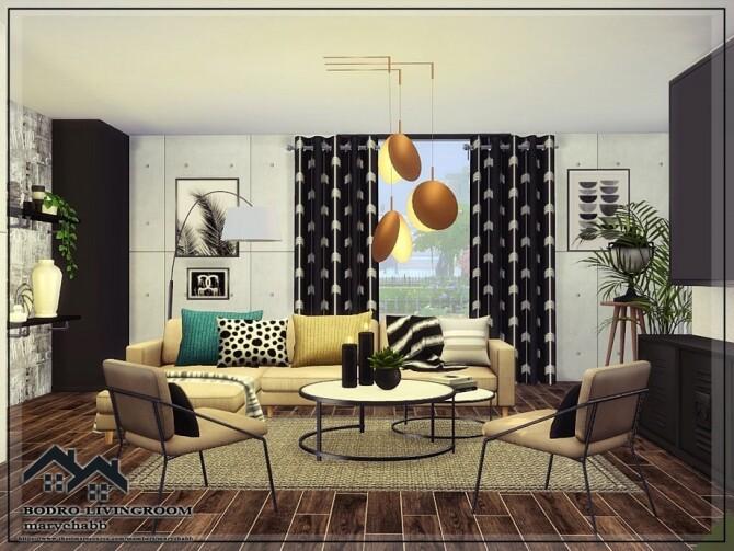 BODRO Livingroom by marychabb