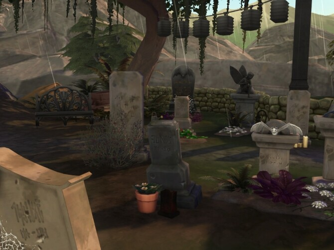 Sims 4 Shabby Coffin Home by VirtualFairytales at TSR
