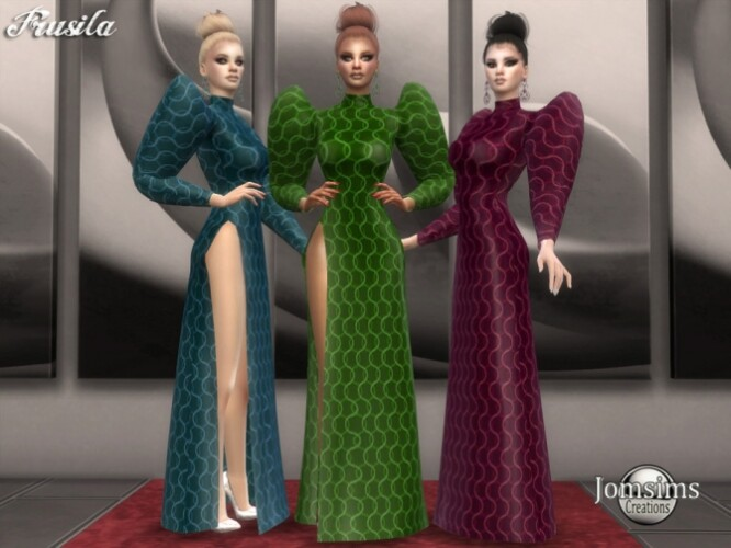 Frusila dress by  jomsims
