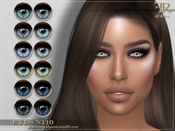 Sims 4 FRS Eyes N110 by FashionRoyaltySims at TSR