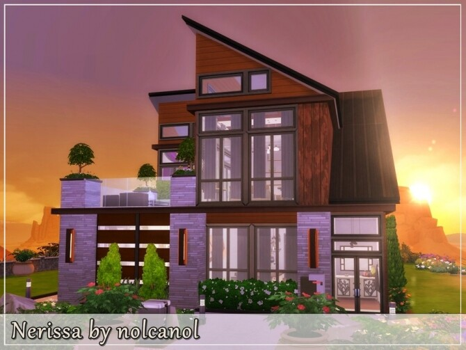 Nerissa home by nolcanol at TSR image 460 670x503 Sims 4 Updates