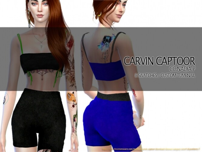 Nadia P shorts by carvin captoor