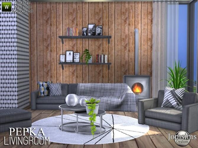 Pepka livingroom by jomsims