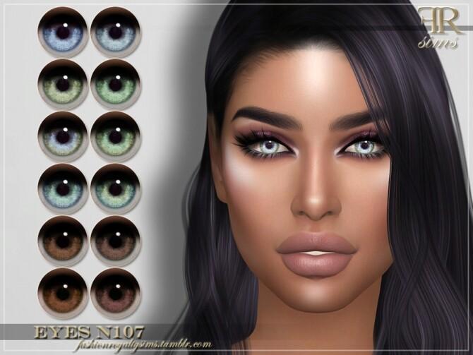 Sims 4 FRS Eyes N107 by FashionRoyaltySims at TSR