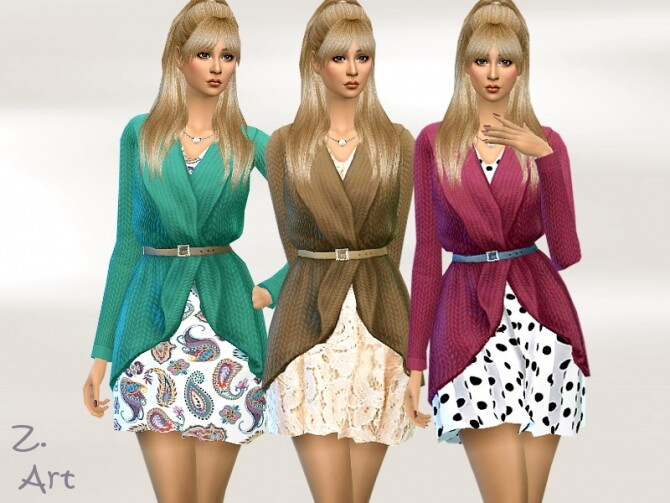 Autumn 20 01 Outfit by Zuckerschnute20 at TSR image 4710 670x503 Sims 4 Updates