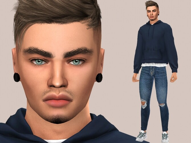 Sims 4 Jacob Harris by MSQ SIMS