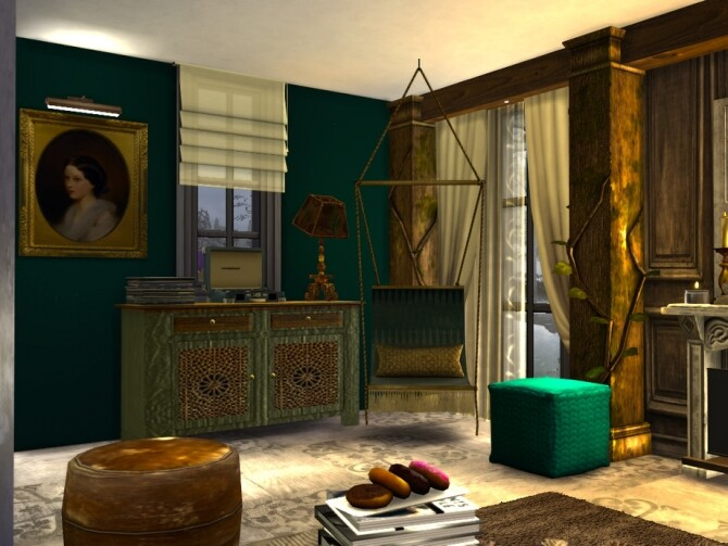 Boho Chic Living by fredbrenny at TSR image 4721 670x503 Sims 4 Updates