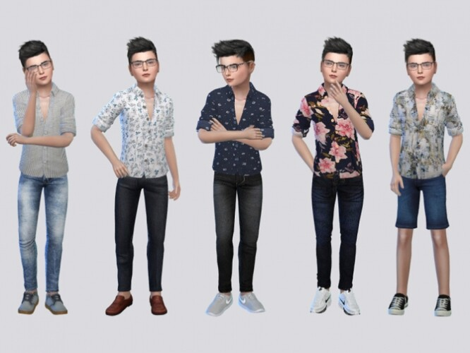 Toby Casual Shirts Kids by McLayneSims