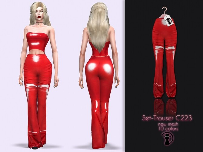 Trousers C223 by turksimmer at TSR image 4810 670x503 Sims 4 Updates